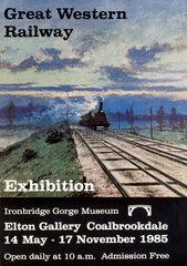 'Great Western Railway Exhibition'  IGM poster  1985.
