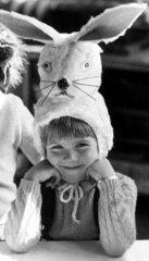 Easter Bunny bonnet  c 1970s.