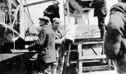 Captain John Alcock (1886-1948) and Lieuten