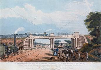 Intersection bridge  Cheshire  1832.