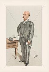 Henry Charles Burdett  hospital administrator  1898.