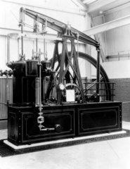 Rotative compound beam engine  1838.