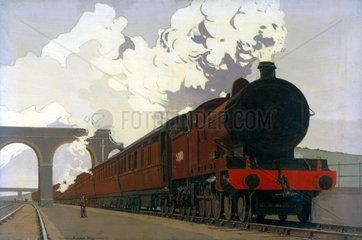 'Passenger Express - The Symbol of Comfortable Travel'  c 1935.