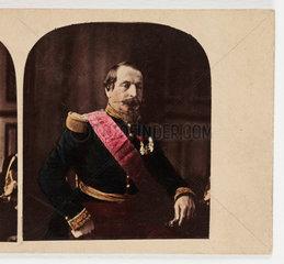 'His Majesty  Napoleon III'  c 1865.