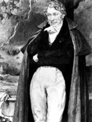 Andre-Marie Ampere  French physicist and mathematician  c 1810.