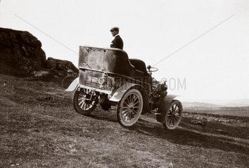The first 10 hp Rolls-Royce motor car  1904.