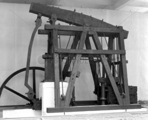Adam Heslop's winding and pumping engine  1795.