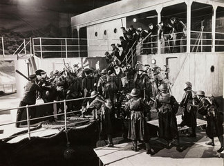 Boarding party  1940.