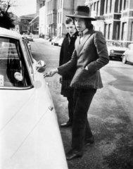 Mick Jagger  British musician  c 1970.