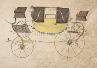 Landau carriage  1816.