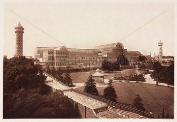 The Crystal Palace  Sydenham  1911.