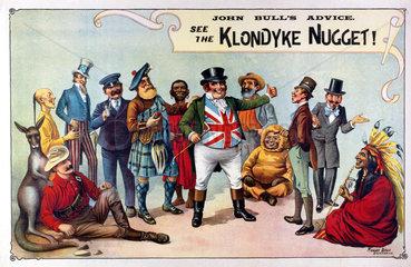 The Klondyke Nugget Show  1900-1903.