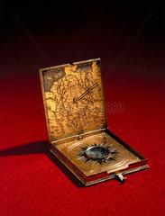 Tablet sundial  German  1566.