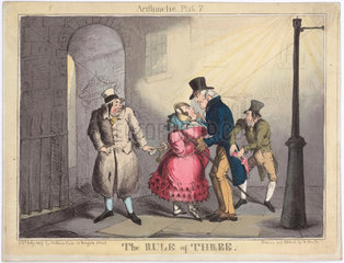 'The Rule of Three'  1827.