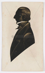 Silhouette of James Grey  c 1840