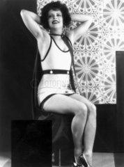 Clara Bow  American actress  1938.