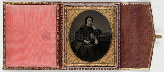 Portrait of a young woman  c 1860.