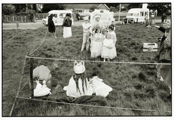 May Queen Festival at Woodmansterne  Surrey  1968.