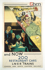 'Then and Now'  LNER poster  1923-1947.