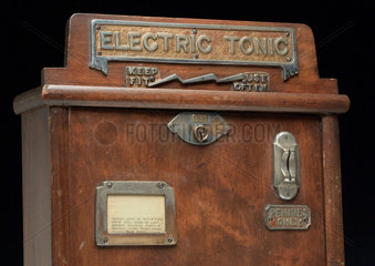 Electric tonic amusement machine  c 1920.