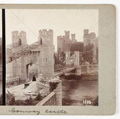 Conway Castle  c 1895 .