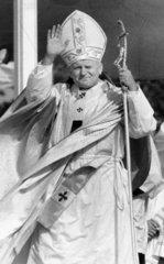Pope John Paul II  Ireland  September 1979.
