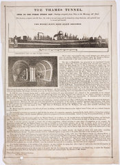 'The Thames Tunnel'  London  1835.