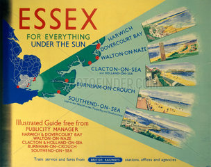 'Essex: For Everything Under the Sun'  BR poster  1948-1965.