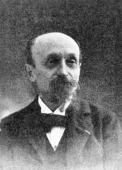 Louis Ducos du Havron  French physicist and inventor  c 1900.