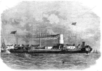 HMS 'Royal Sovereign'  1864.