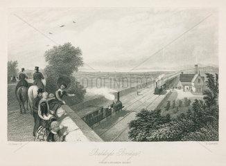 Baldoyle Bridge  Dublin & Drogheda Railway  1836.