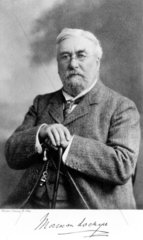 Sir Norman Lockyer  English astronomer  c 1910.