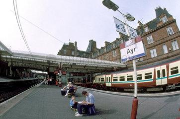 Ayr Station  2001.