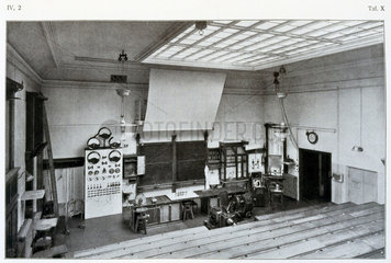 Lecture theatre  University of Leipzig  Germany  1909.