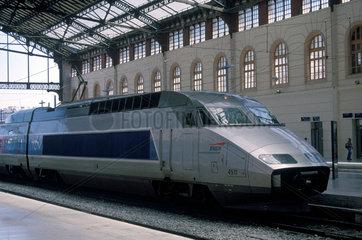 Train a Grande Vitesse (TGV)  Marseilles  France  2002.