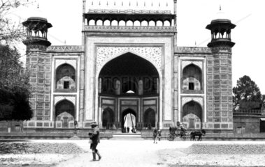 Indian Mughal temple  c 1910s.