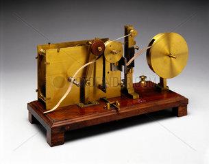 Bain's chemical telegraph  1850.