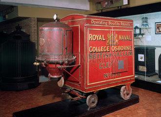 Booth's original Red Trolley British Vacuum Cleaner  1905.