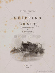 Title page to Cooke's book on shipping  1829.