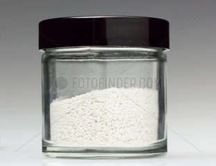Jar of nanoparticles  c 2006.