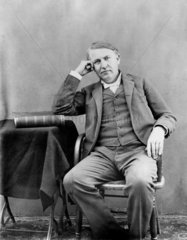 Thomas Edison  American inventor  1893.