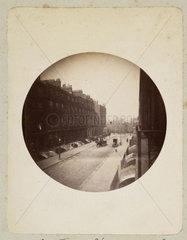London street scene  c 1890s.