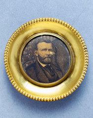 Miniature portrait of Ulysses Simpson Grant