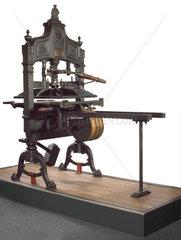 'Britannia' hand printing press  c 1835.