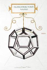 Da Vinci's Dodecahedron  1509.