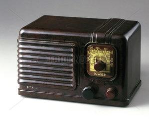 DeWald radio receiver  c 1935.