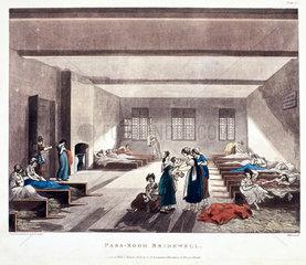 'Pass-Room Bridewell'  1808.