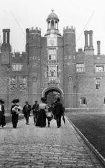 Hampton Court Palace in London  c 1910s.