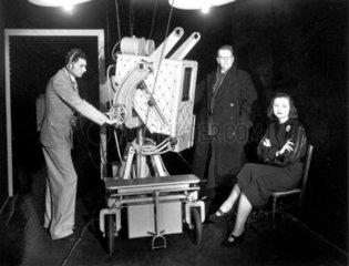 John Logie Baird  television pioneer  c 1940s.