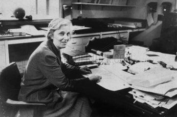 Professor Dorothy Mary Hodgkin  c 1960s.